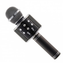 Беспроводной микрофон для караоке Wster WS858 Black