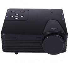 Проектор Projector портативный мультимедийный Led 13,7см Чёрный (W662-H80-А)